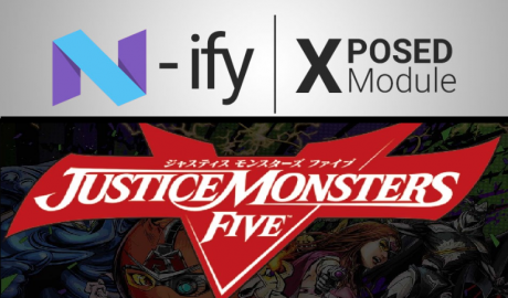 Android n ify justice monsters five