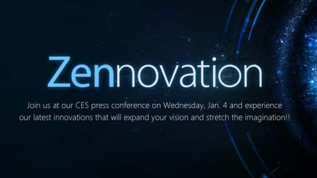 Asus Zennovation CES 2017 event january 4
