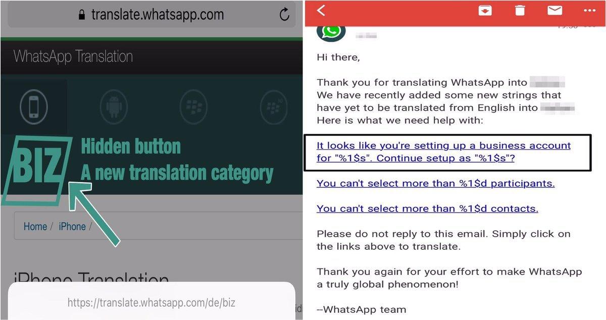 WhatsApp: in arrivo il tasto