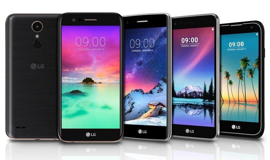 LG: cinque nuovi smartphone al CES di Las Vegas