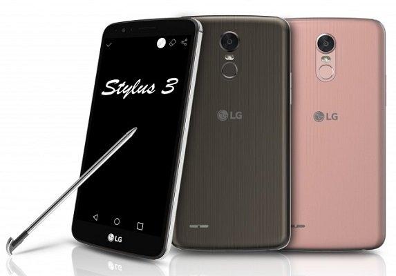 LG annuncia lo Stylus 3 e quattro nuovi smartphone Android serie K