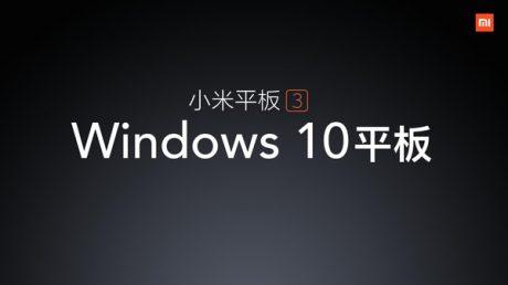 Mi Pad 3 Windows 10