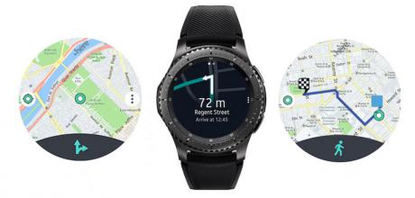 New Here WeGo navigation app for Gear S3