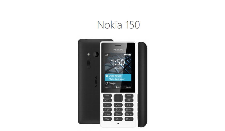 HMD Global presenta il nuovo Nokia 150