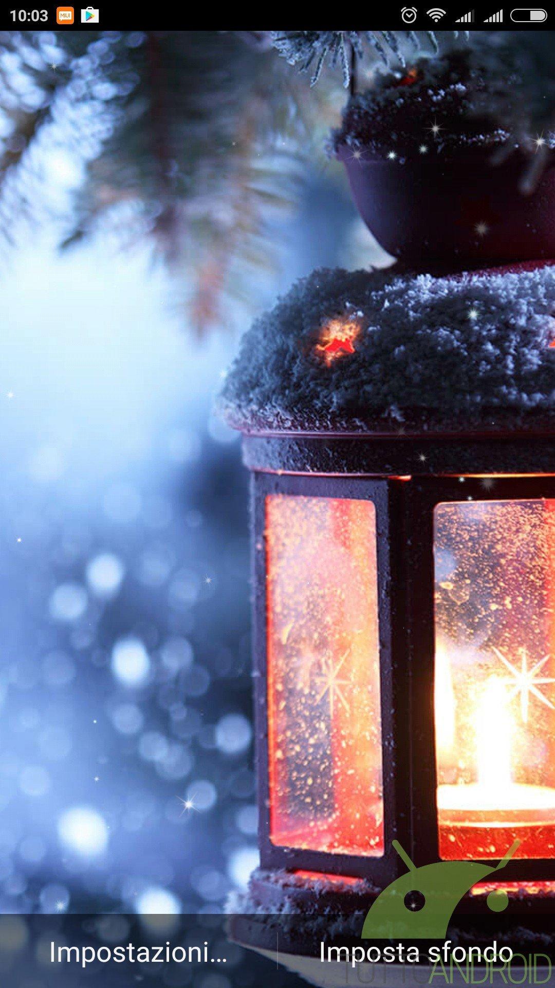 Notte Di Natale Sfondi Animati Offre Live Wallpaper Di Qualita Per