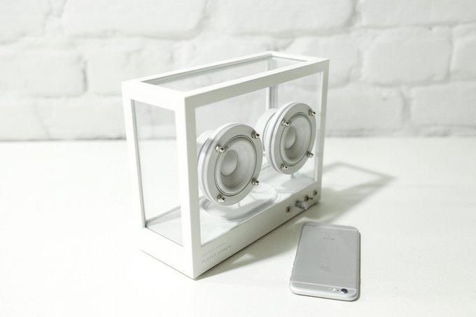 Small Transparent Speaker Kickstarter