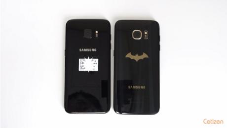 Samsung Galaxy S7 edge black pearl vs injustice