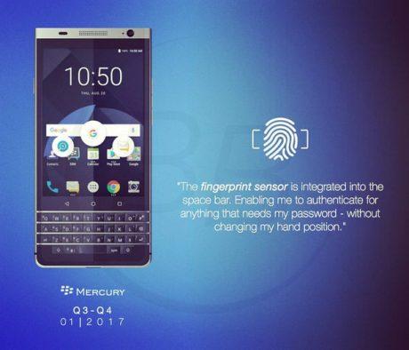 Blackberry mercury 2
