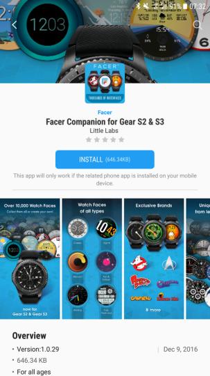 Facer gear s3 2 303x540