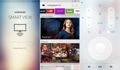 Samsung TV chromecast