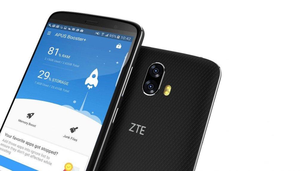 ZTE porterà APUS Booster+ sui propri smartphone