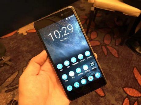 Nokia 6 front display fingerprint sensor 1