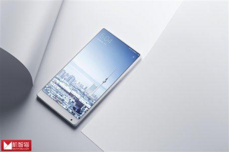 White Xiaomi Mi MIX