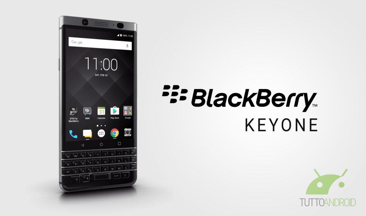 BlackBerry KEYOne è ufficiale: specifiche, disponibilità e prezzo