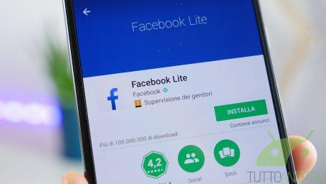 Facebook Lite: sono arrivate le reactions e gli effetti personalizzati della fotocamera