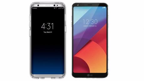 Galaxy S8 LG G6