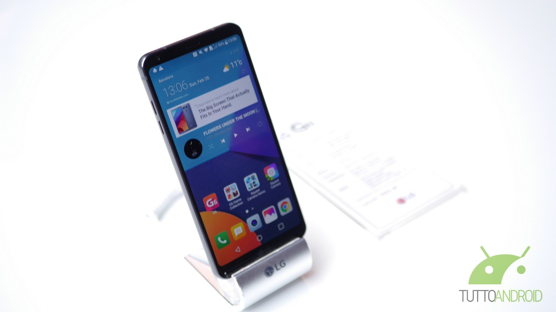 LG G6 si graffia, tanto quanto qualsiasi altro smartphone in vetro