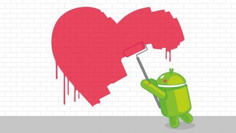 Android san valentino