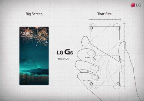 Lg g6 invite teaser