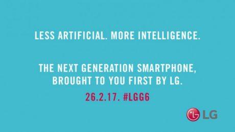 Teasr LG G6