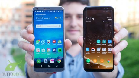 Samsung Galaxy S8 vs LG G6, i due gioiellini in un primo video confronto
