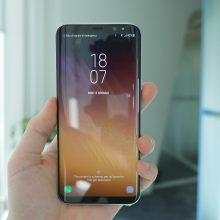 Samsung Galaxy S8 video anteprima