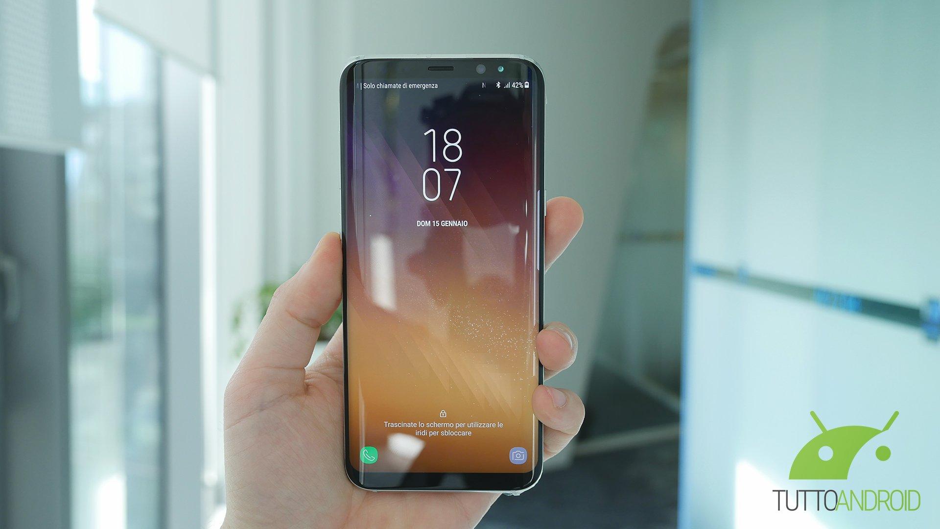 Samsung Galaxy S8 non è stato lasciato indietro: ecco il nuo