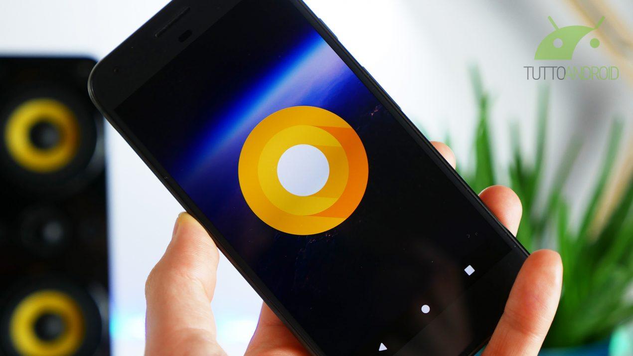 Android O e l'autenticazione app tramite sms