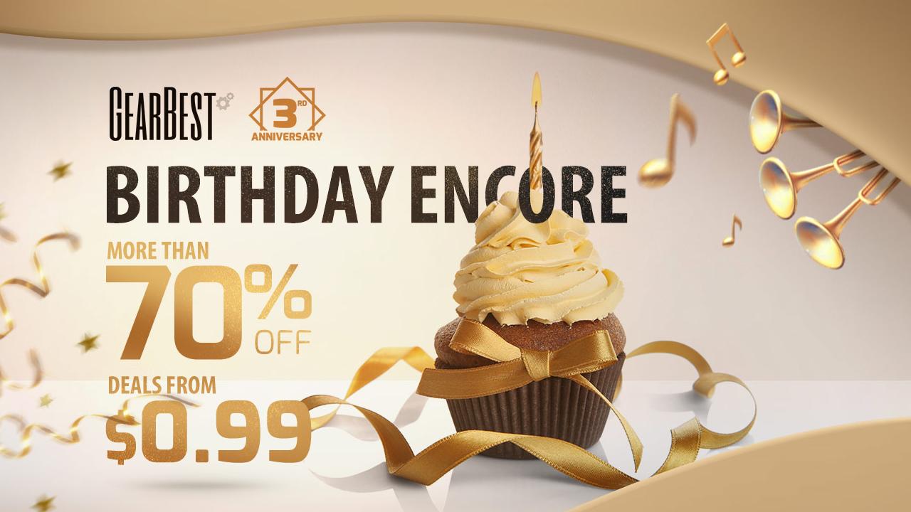 GearBest Sconti Del 70 E Offerte Da 99 Centesimi Per Il Terzo Compleanno