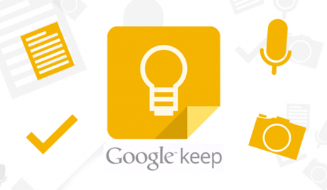 L'app Google Keep è stata ribattezzata in Keep Notes