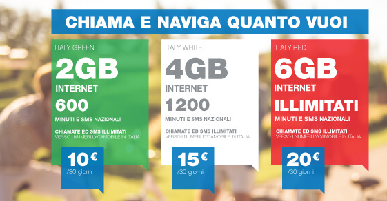 lycamobile ecco le nuove offerte italy tutto incluso a partire da 10 euro al mese tuttoandroid. Black Bedroom Furniture Sets. Home Design Ideas
