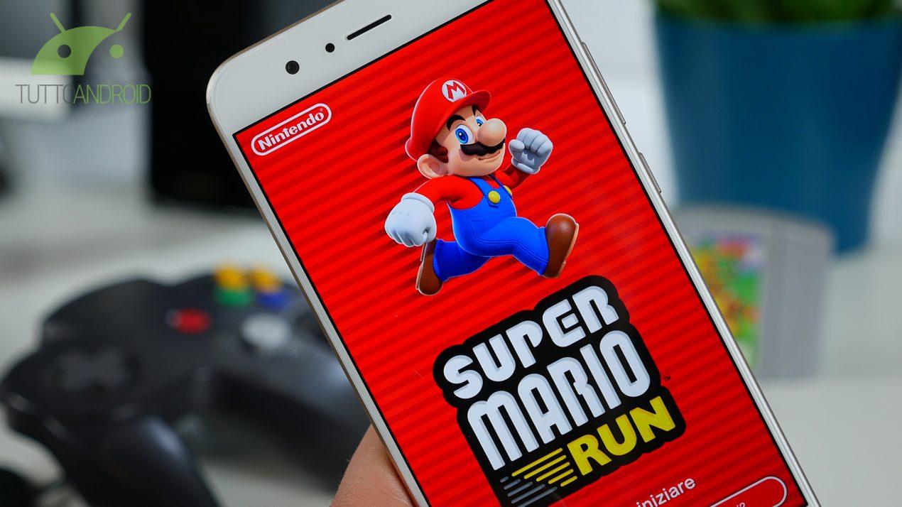 Super Mario Run è finalmente disponibile su Android