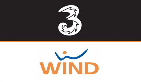 Wind Tre loghi