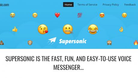 Google supersonic app