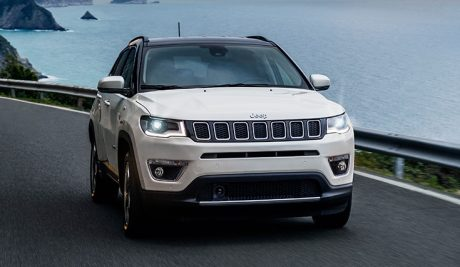 Jeep compass opening edition front rear