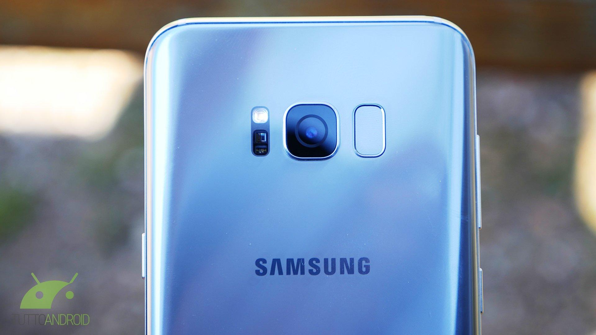 Samsung Galaxy S8 e S8+ si aggiornano con le patch di sicure