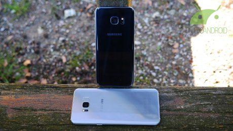 Samsung Galaxy S7 edge e Samsung Galaxy S8+