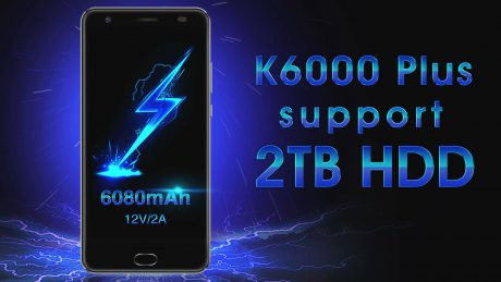 K6000 Plus supports 2TB HDD