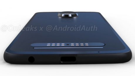 Motorola Moto Z2 Force render 1
