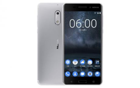 Nokia 6 argento silver