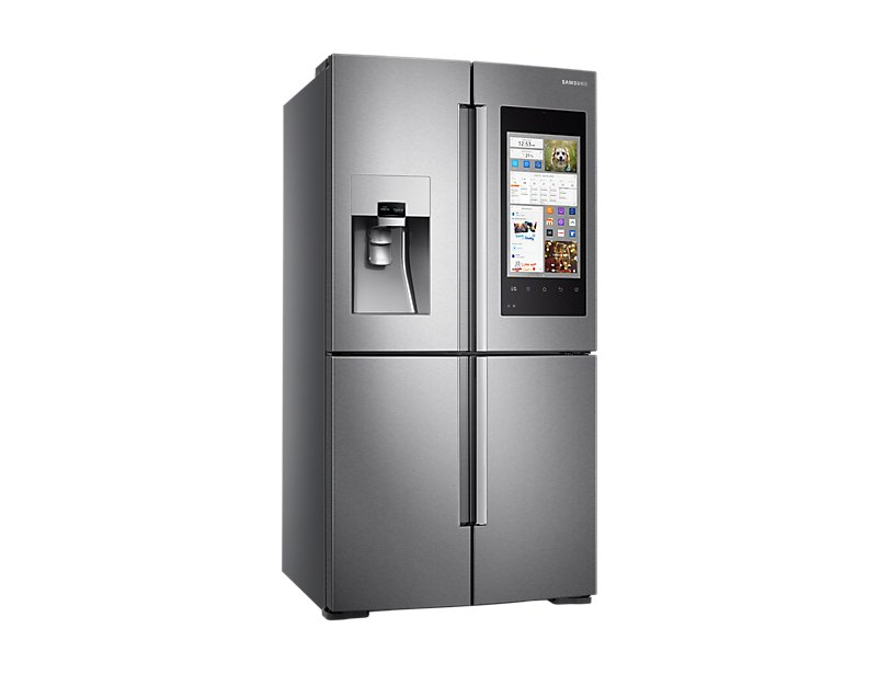 samsung family hub sbarca in italia ecco il frigo smart. Black Bedroom Furniture Sets. Home Design Ideas