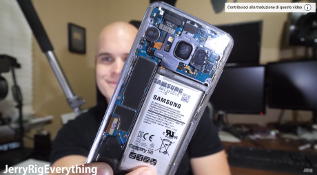 Galaxy s8 jerryrigeverything clear