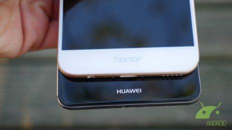 Honor 8Pro vs Huawei mate9 4