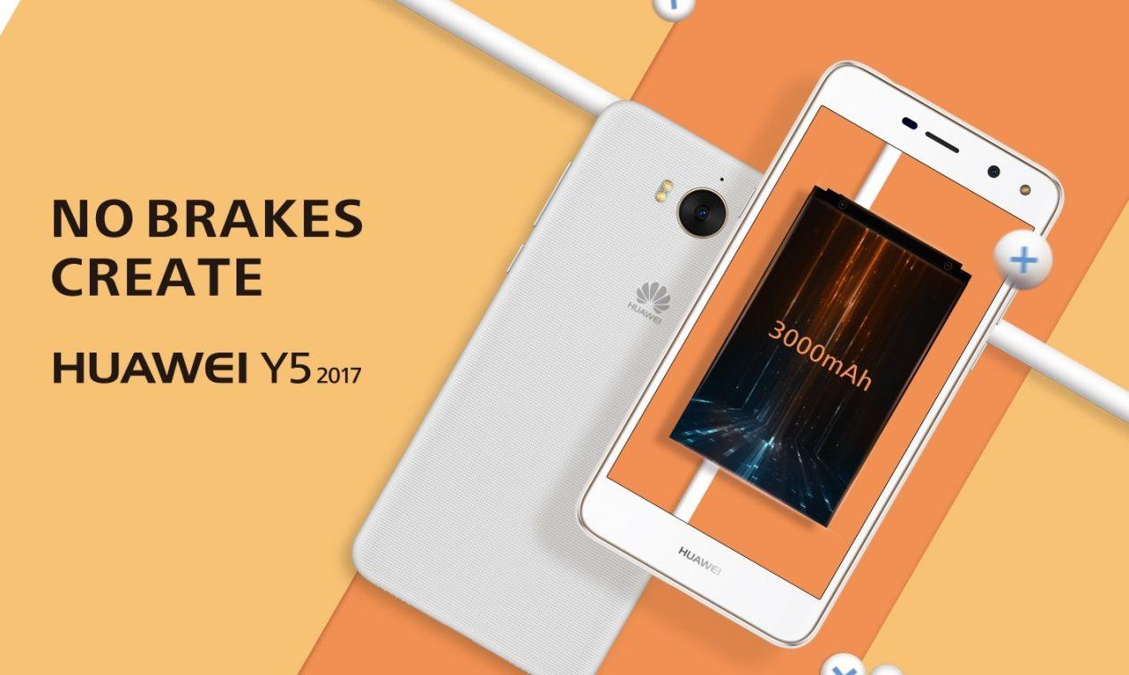 Huawei Y5 2017 è il nuovo smartphone di fascia bassa di Huawei