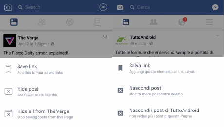 Icone facebook android