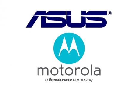 ASUS Lenovo Motorola logo