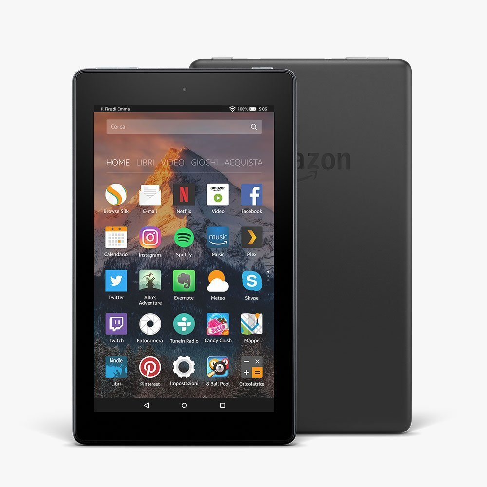 Amazon rinnova i tablet Fire 7 e Fire HD 8