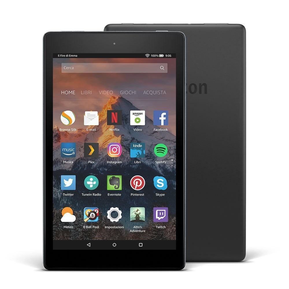 Amazon presenta i nuovi Fire 7 e Fire 8 HD