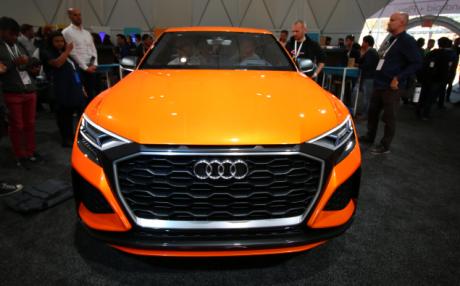 Audi Q8 Sport Android Auto 1