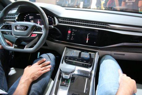 Audi Q8 Sport Android Auto 4